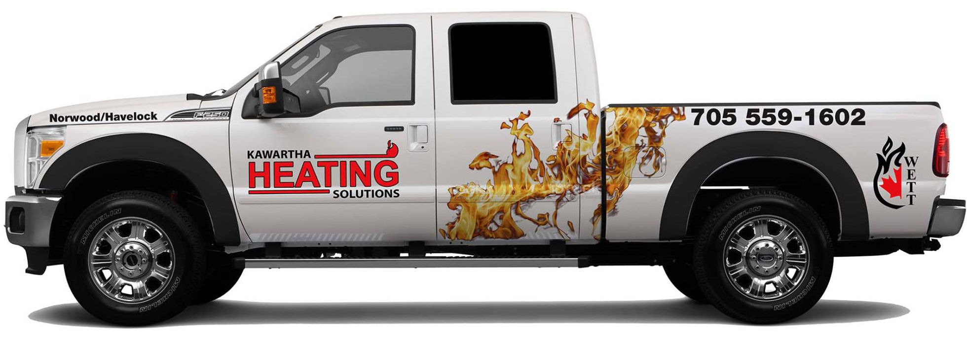 Kawartha Heating Solutions Truck